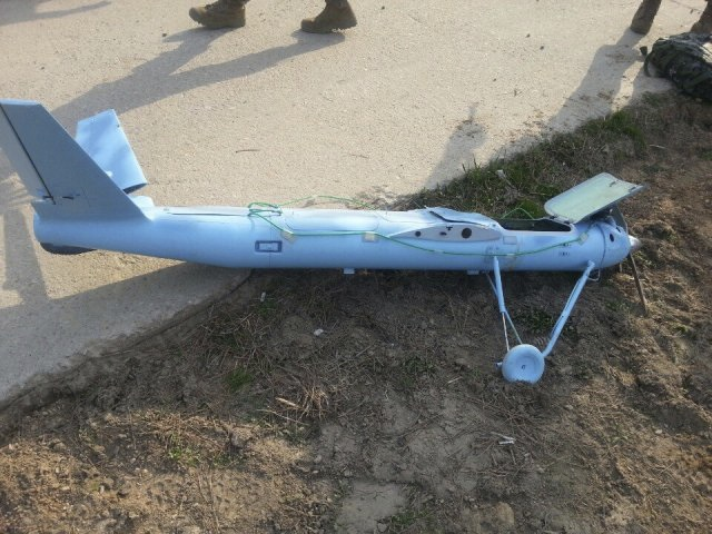 The unmanned aircraft that crashed in South Korea Monday looks like a model airplane, experts say after this picture was released April 2, 2014.