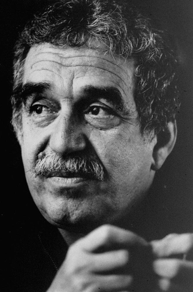 Colombian Nobel laureate Gabriel Garcia Marquez.