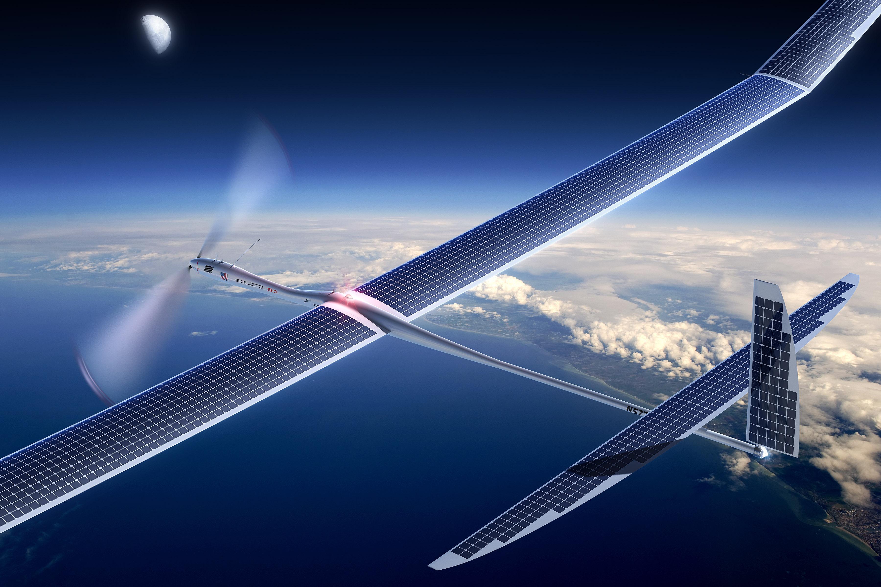Titan Aerospace's Solara 50 drone