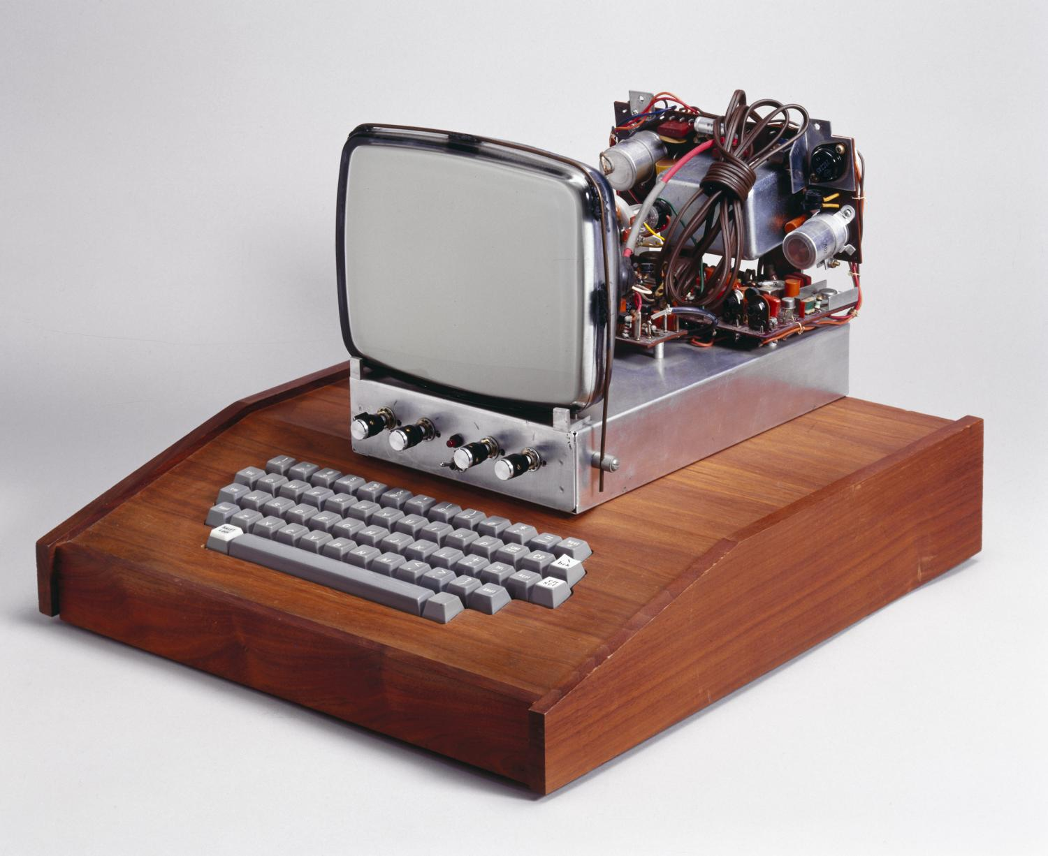 This was the first computer made by Apple, which became one of the fastest growing companies in history