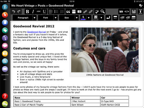 BlogPad Pro for WordPress