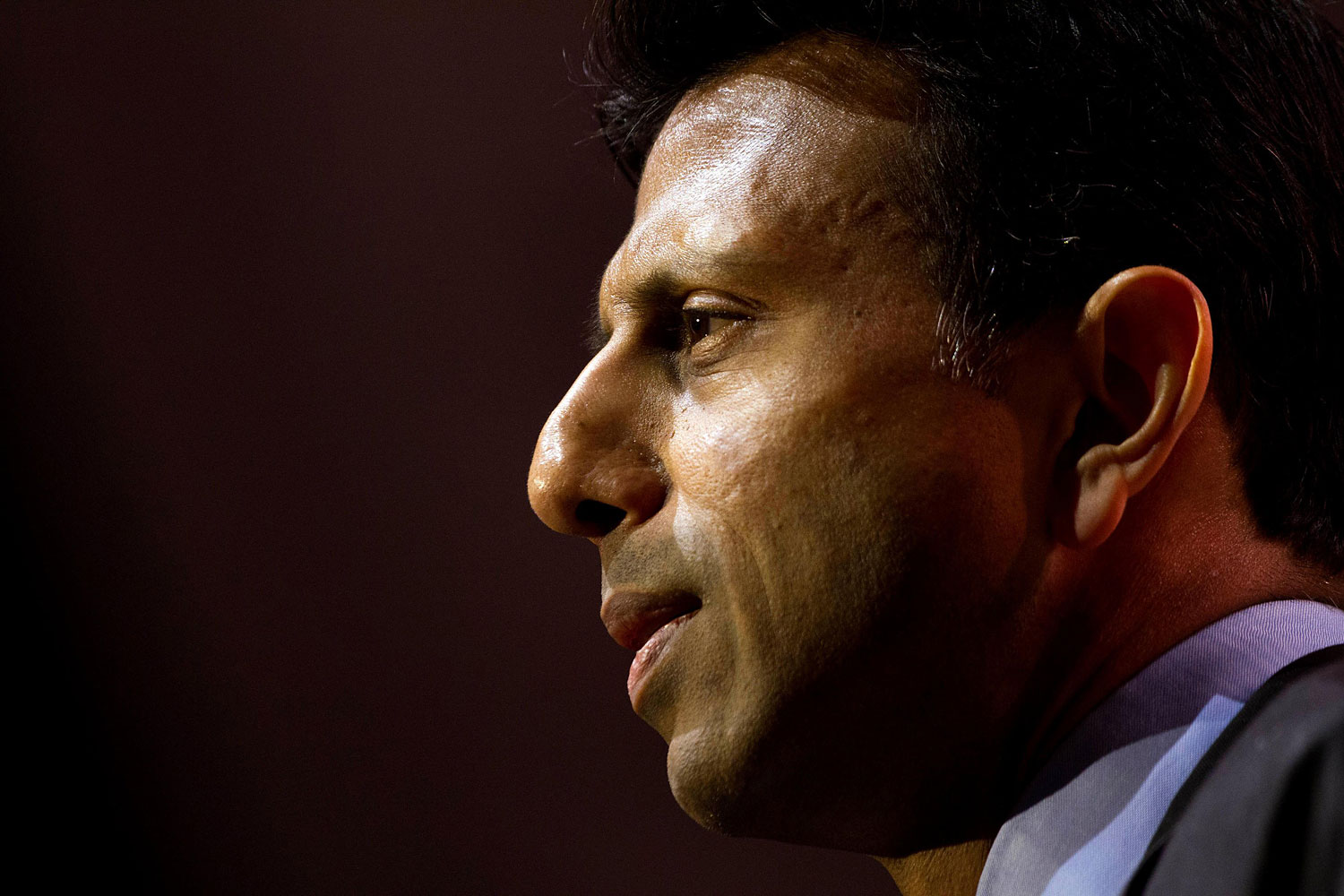 Governor Bobby Jindal of Louisiana speaks during an address to delegates at the Conservative Political Action Conference, National Harbor, Maryland, March 6, 2014.