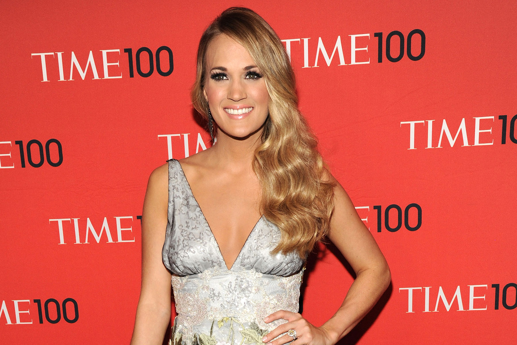 Carrie Underwood attends the TIME 100 Gala, TIME's 100 most influential people in the world at Jazz at Lincoln Center on April 29, 2014 in New York City