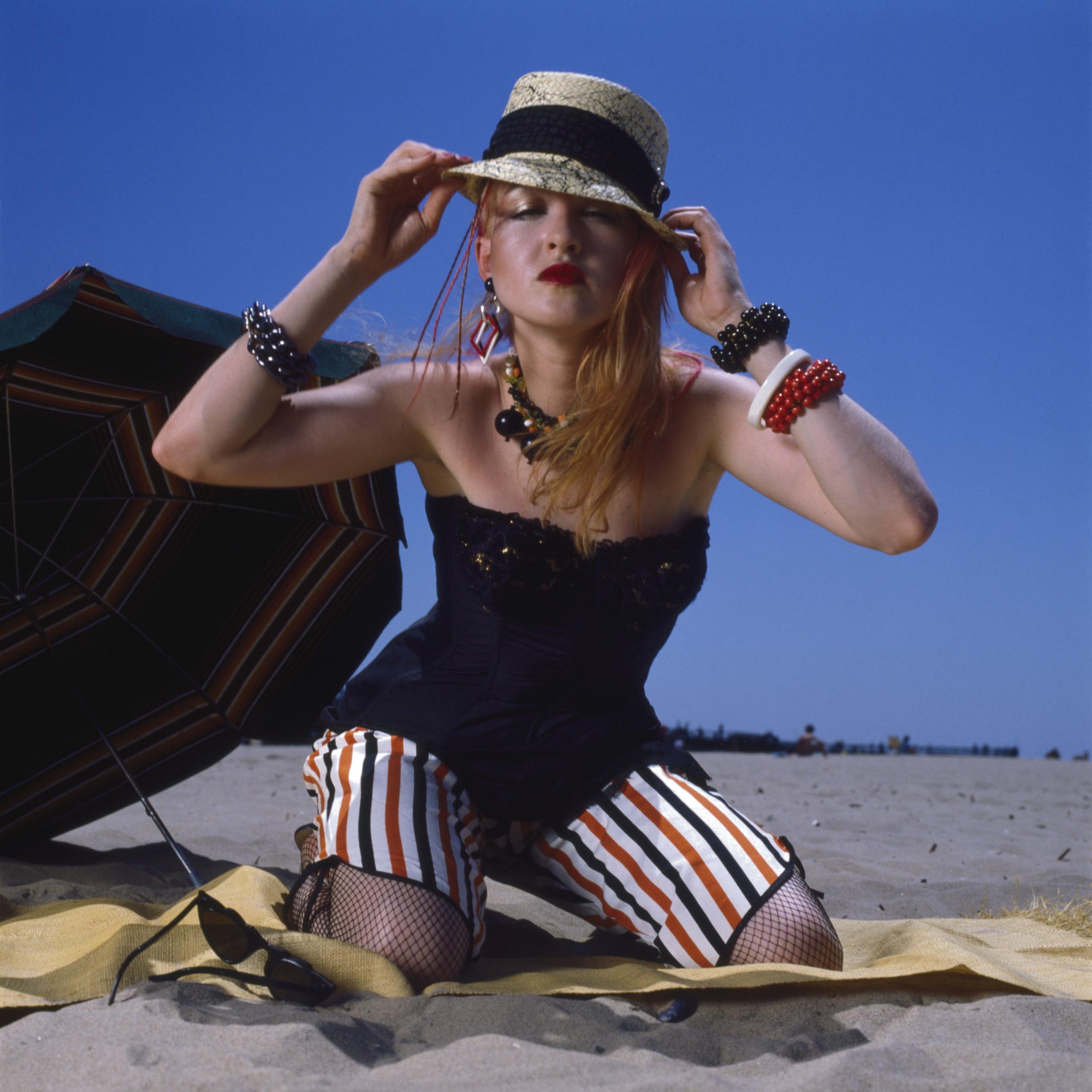 Cyndi Lauper circa 1983