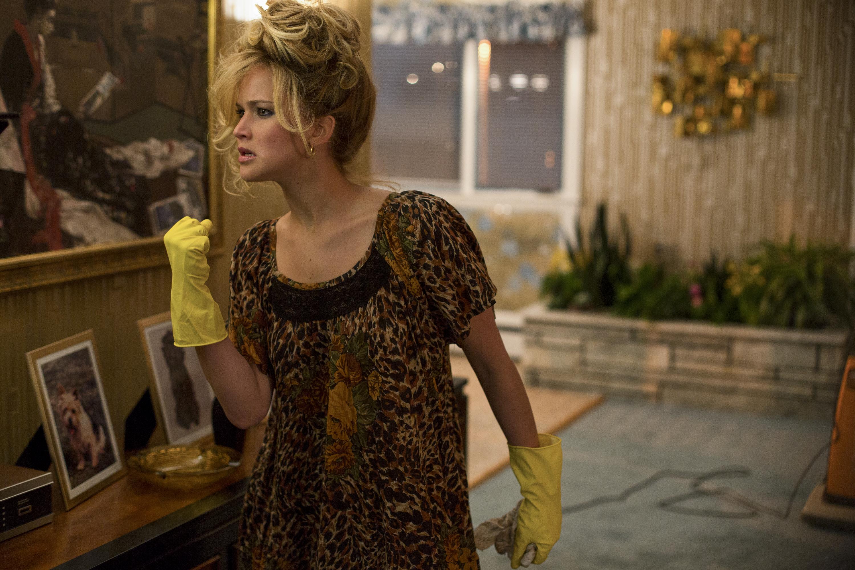 Rosalyn Rosenfeld (Jennifer Lawrence) in American Hustle.