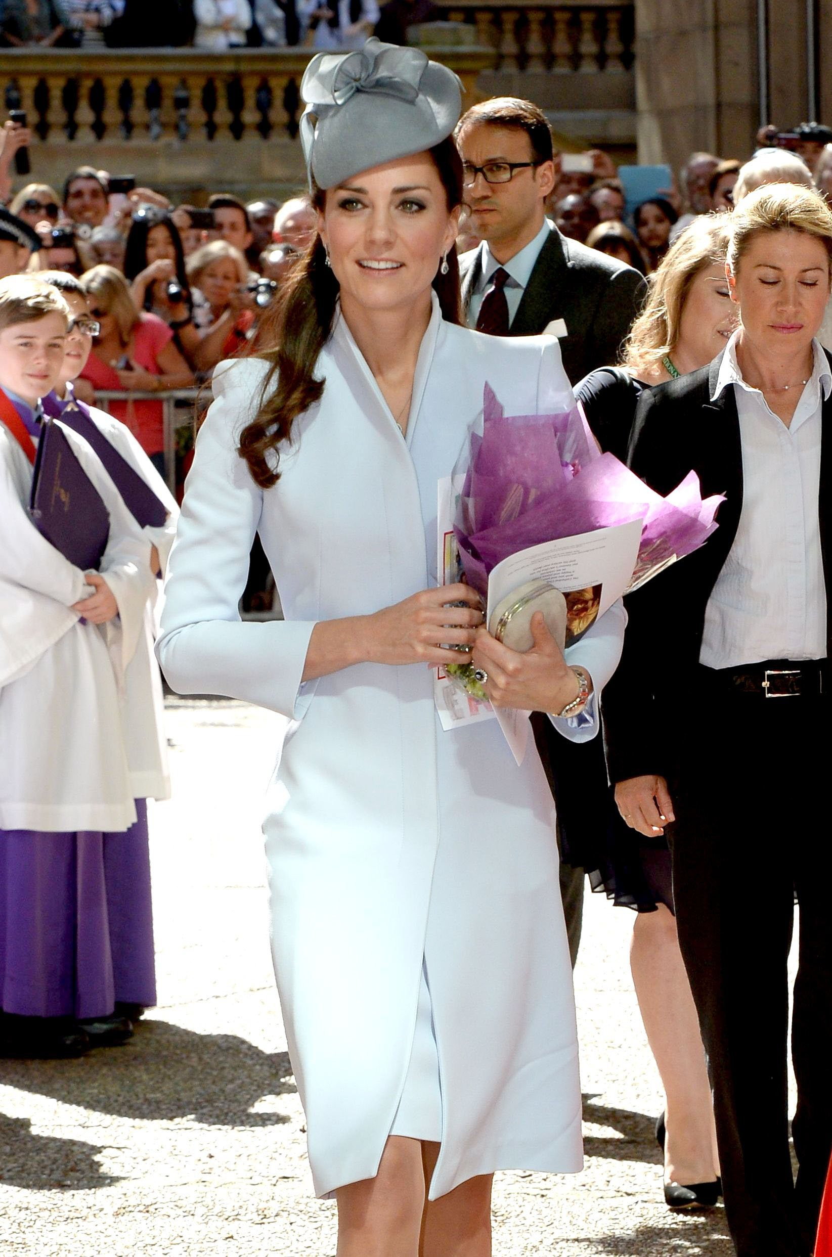 <strong>Fascinating Woman</strong>Catherine, Duchess of Cambridge arrives at St. Andrew's Cathedral for Easter Sunday Service on April 20, 2014 in Sydney.