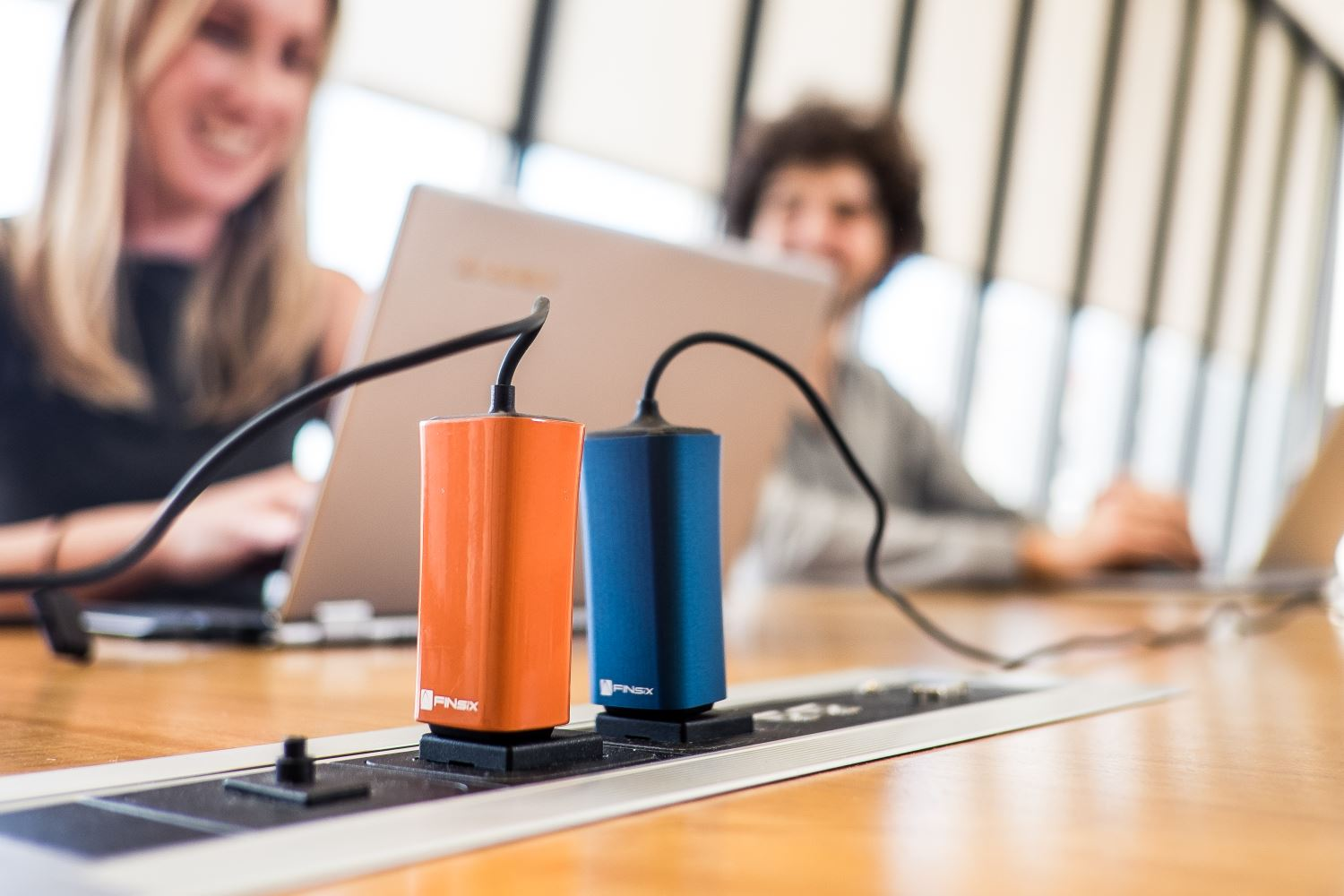 The FINsix Dart is a 65-watt laptop charger that's about the size of a cell phone charger.