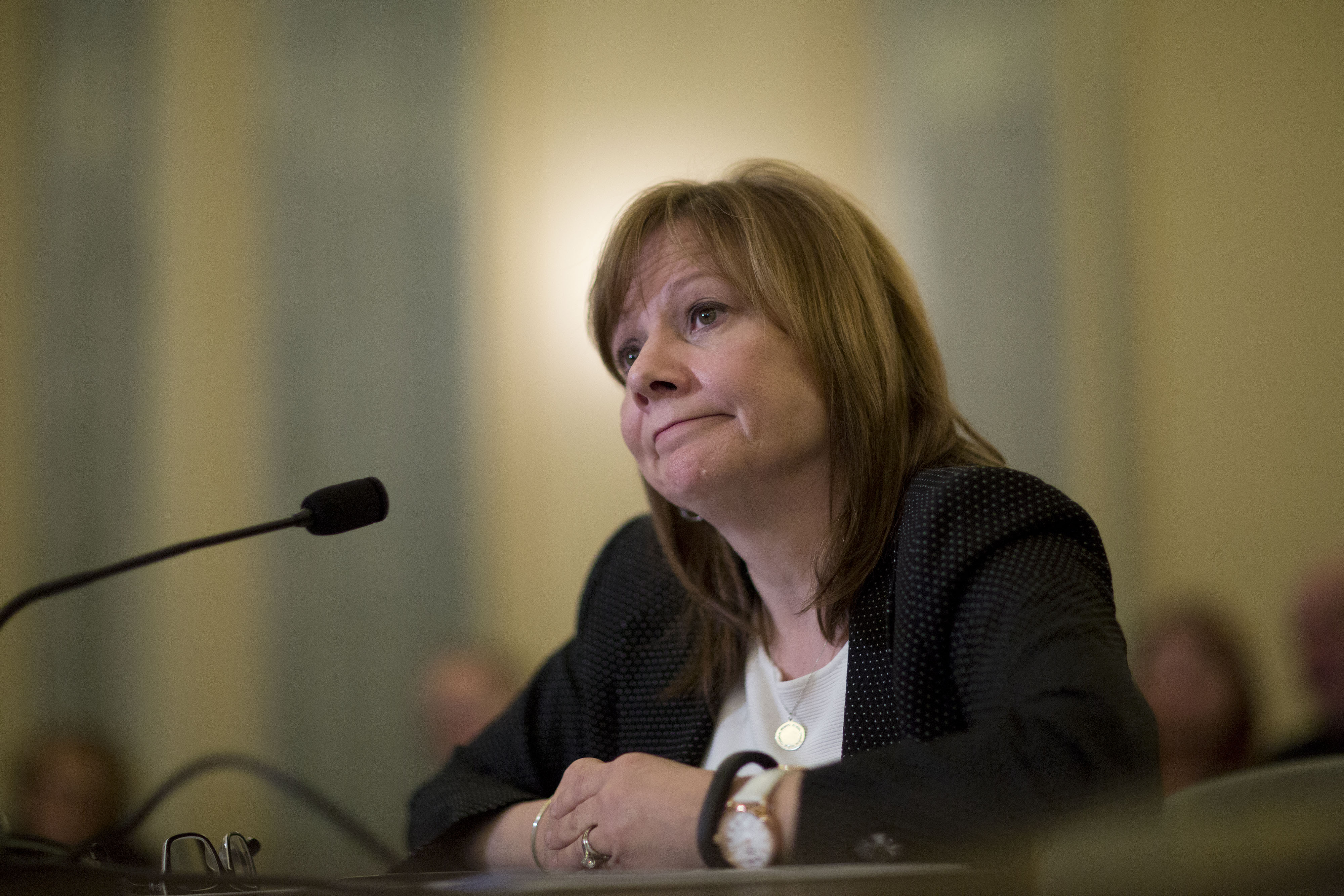 Mary Barra, CEO of General Motors, at a Senate Consumer Protection, Product Safety, and Insurance subcommittee hearing , April 2, 2014.