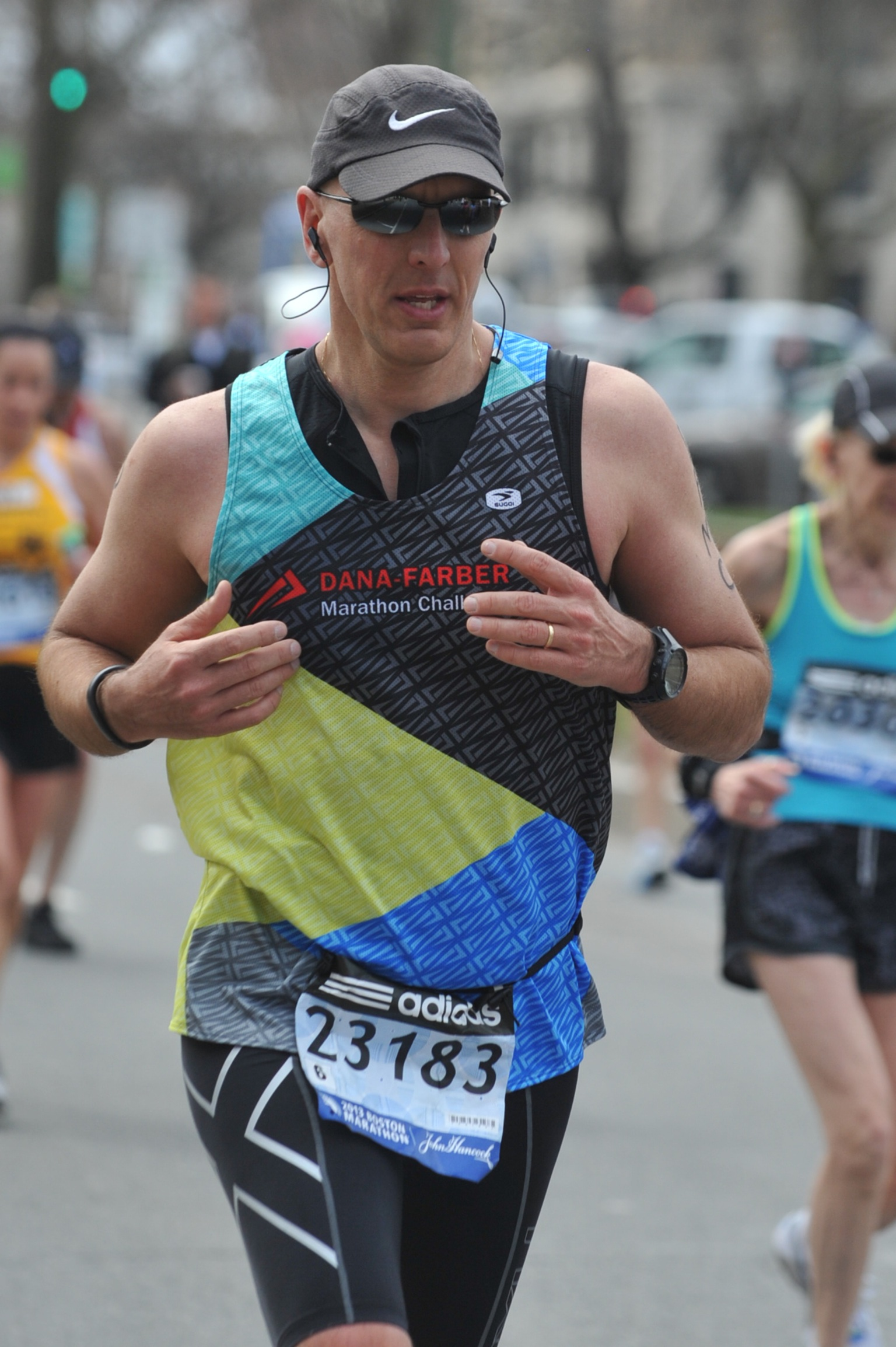 Fortier, who ran the Boston Marathon in 2013, will compete again this year.