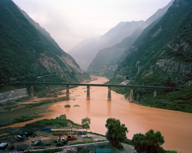 Jialing River, Leuyang Shaanxi, 2012