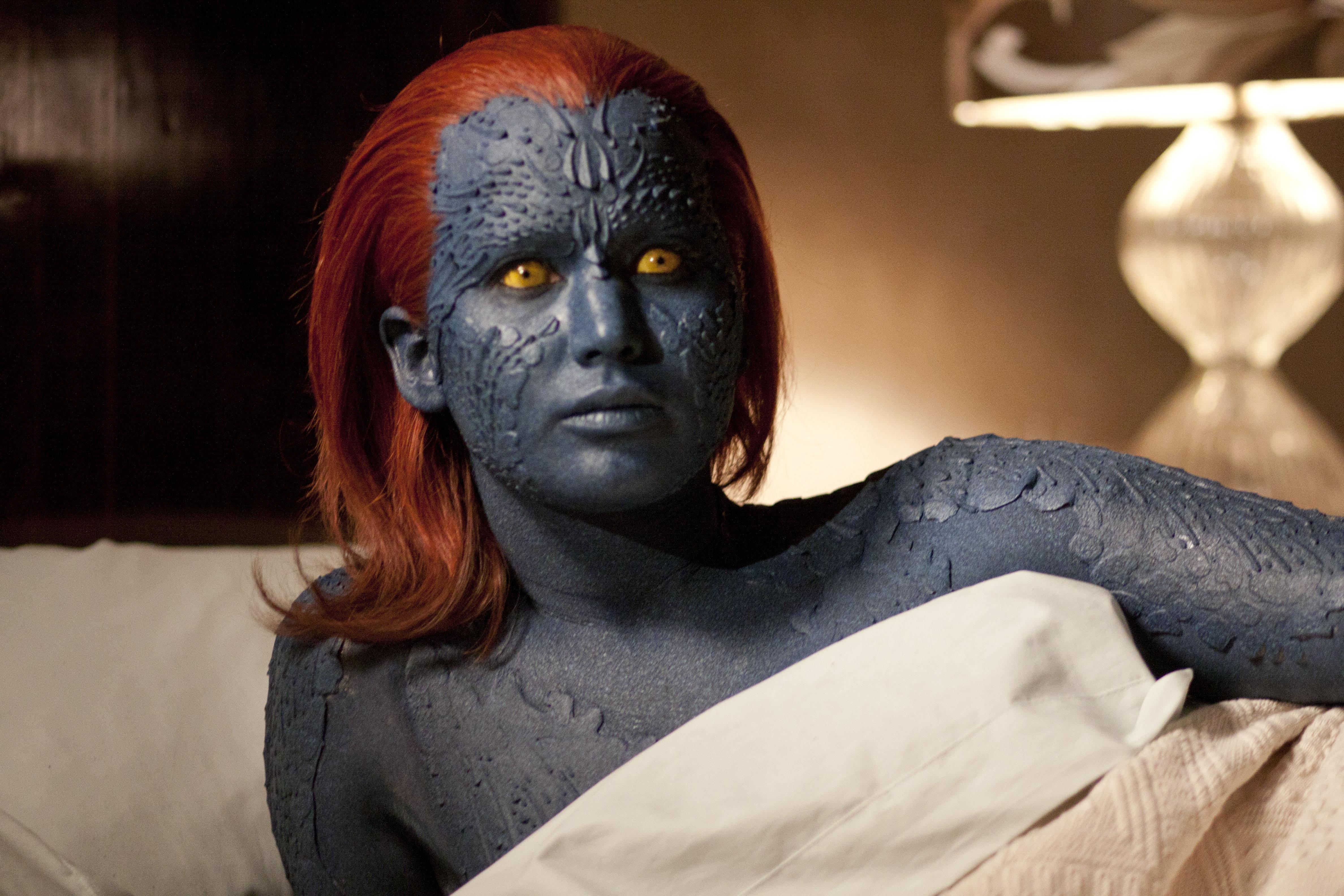 Jennifer Lawrence as Mystique in 'X-Men: First Class'