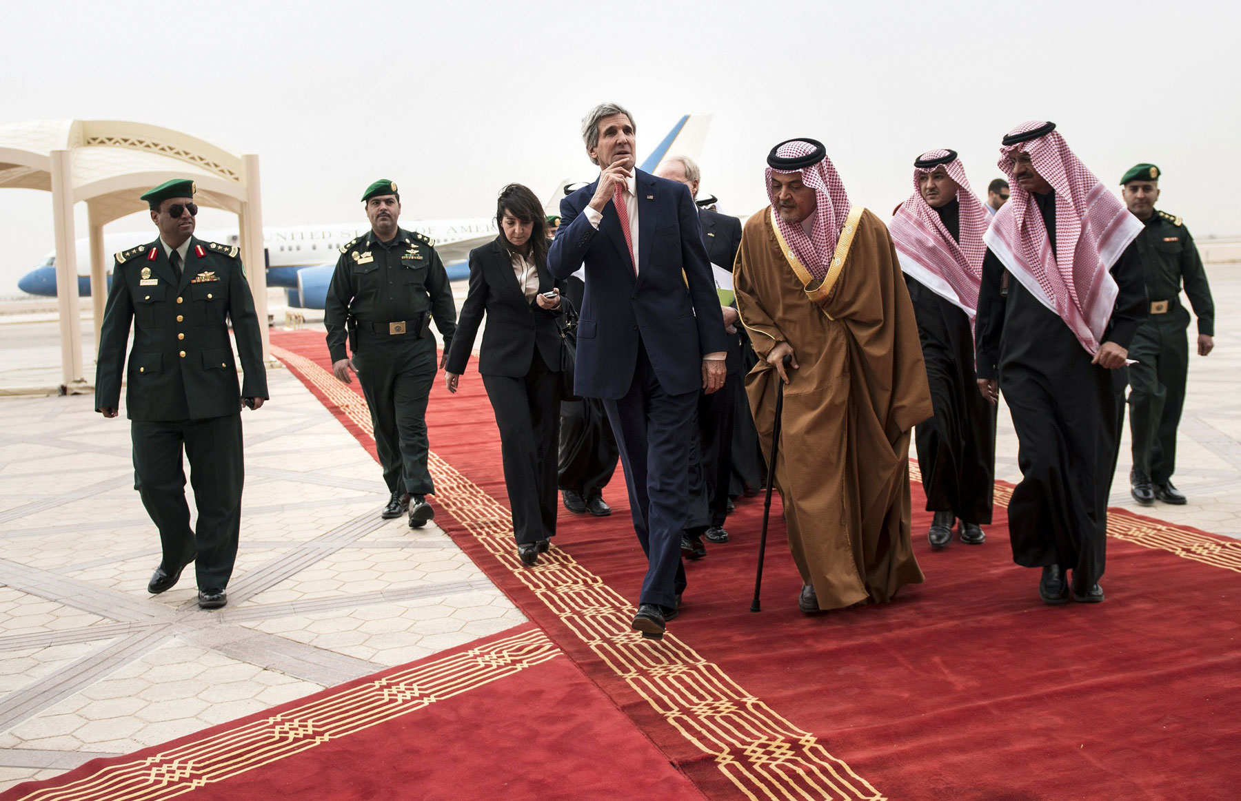 The Secretary of State visiting Riyadh in January to discuss the conflict in Syria.