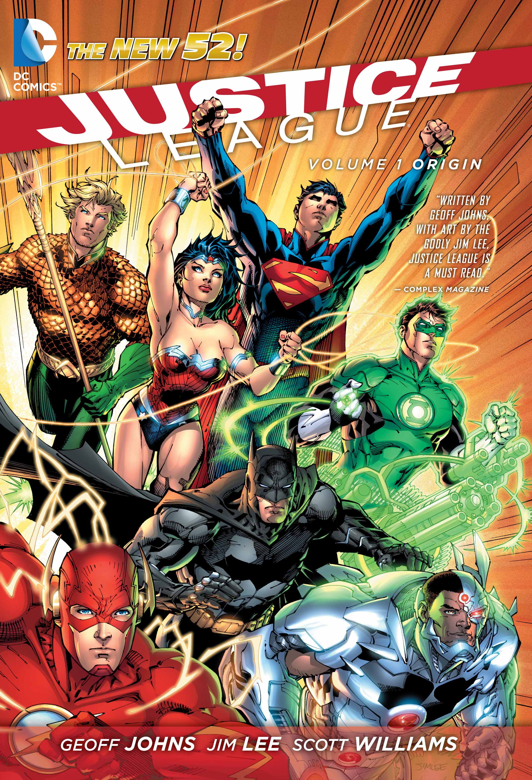 Cover of Justice League Vol. 1: Origin