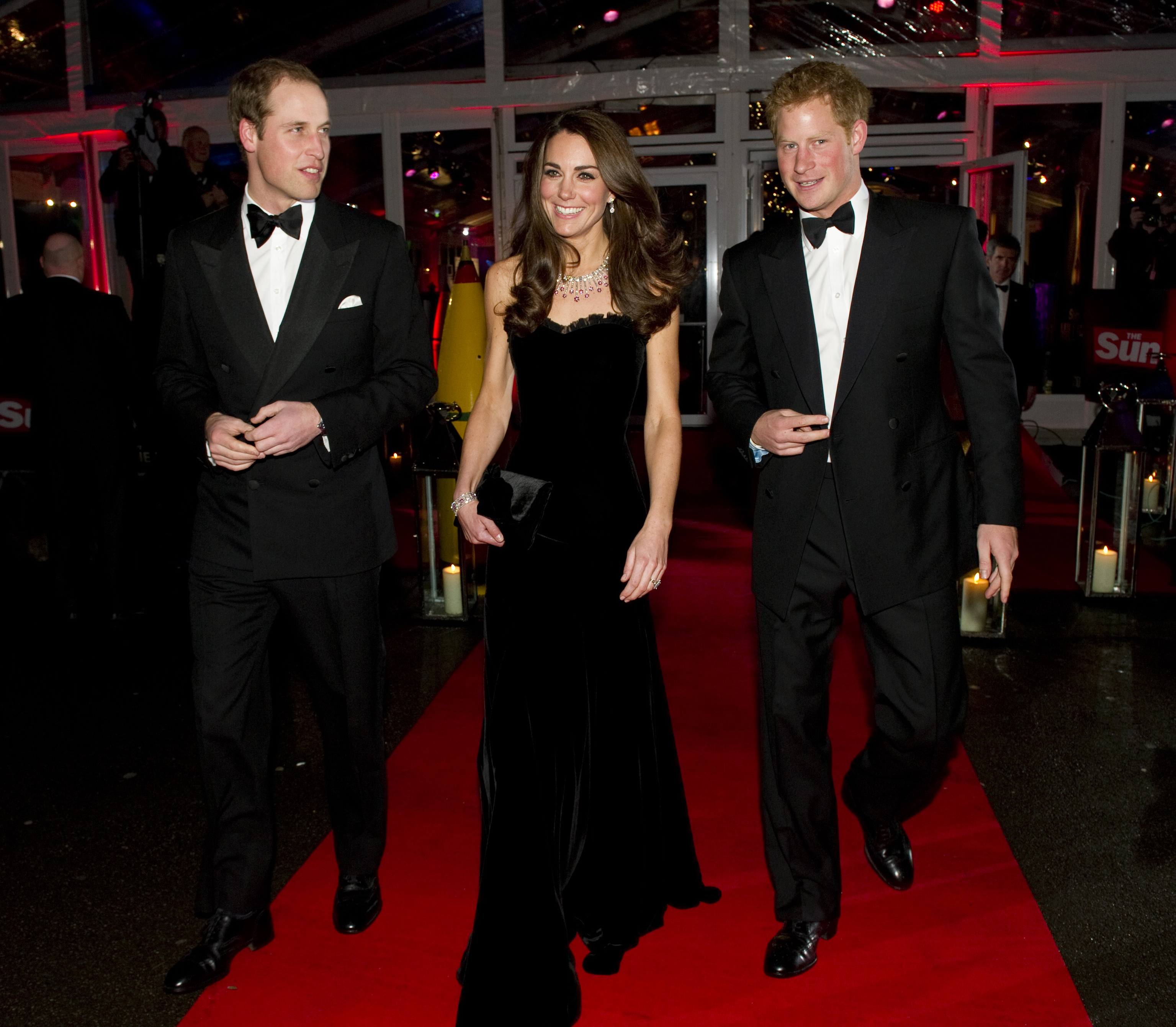 <strong>Her Favorite Designer</strong>                                   The Duchess attended the Sun Military Awards on Dec. 20, 2011 in a strapless, black velvet Alexander McQueen gown. She has stepped out several times in designs by the label, most famously choosing Sarah Burton to create her elaborate wedding gown.