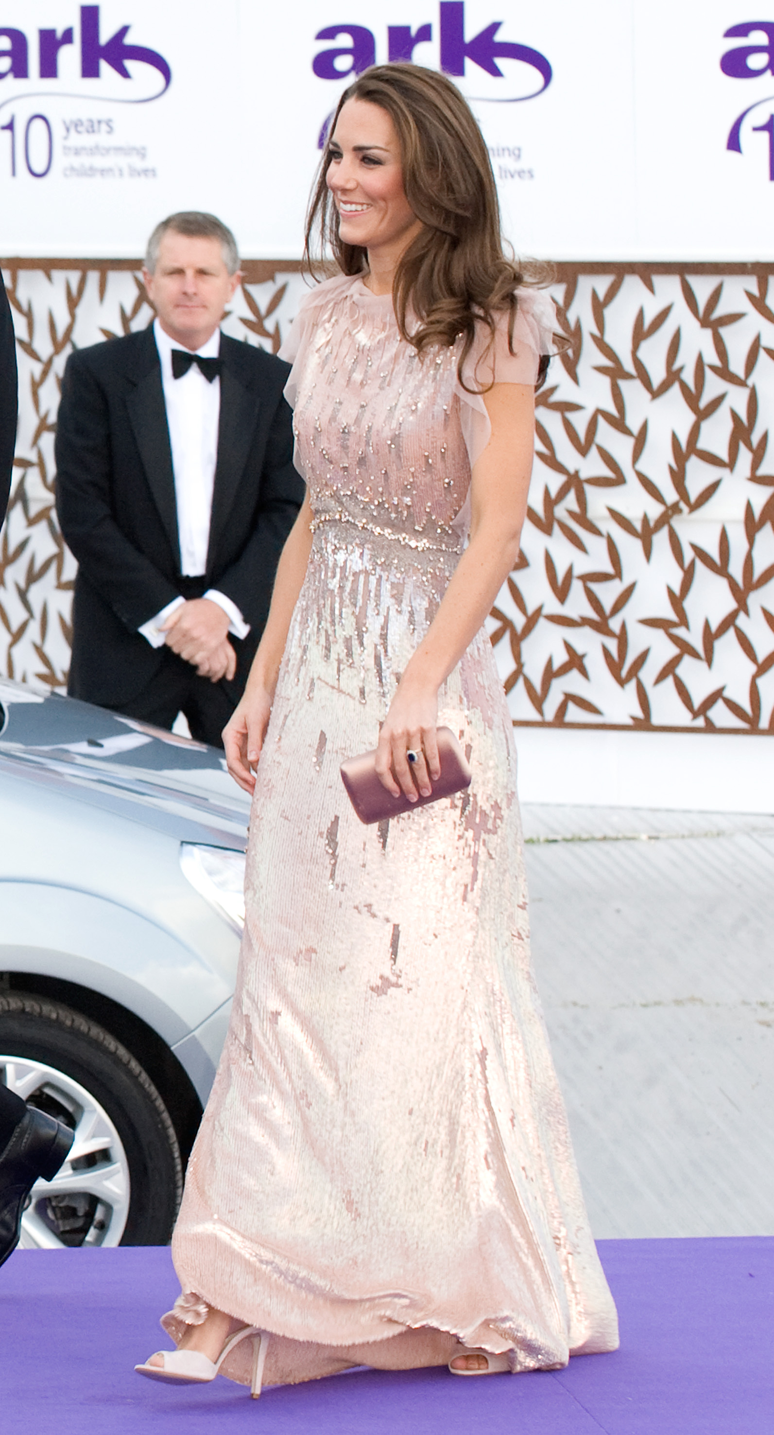 <strong>Princess in Pink</strong>                                   In her most regal fashion moment to date, Middleton wore a sparkly Jenny Packham gown to the ARK Gala dinner at Kensington Palace on June 9, 2011.