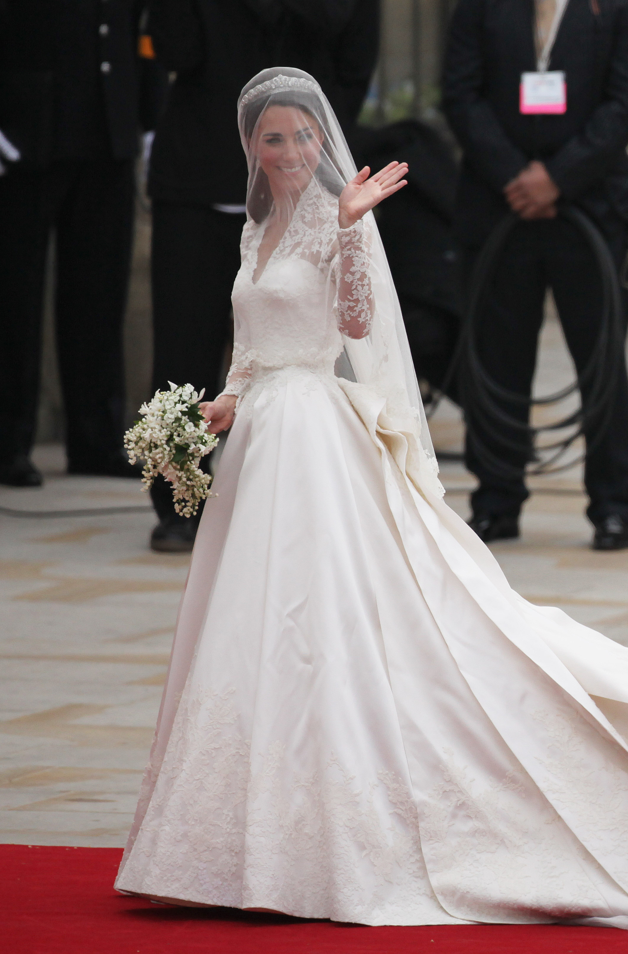 <strong>The Ultimate Fashion Statement</strong>                                   The newly minted Duchess of Cambridge wowed the public and couture experts alike with a stunning gown designed by Sarah Burton for Alexander McQueen at her wedding to Prince William on April 29, 2011.