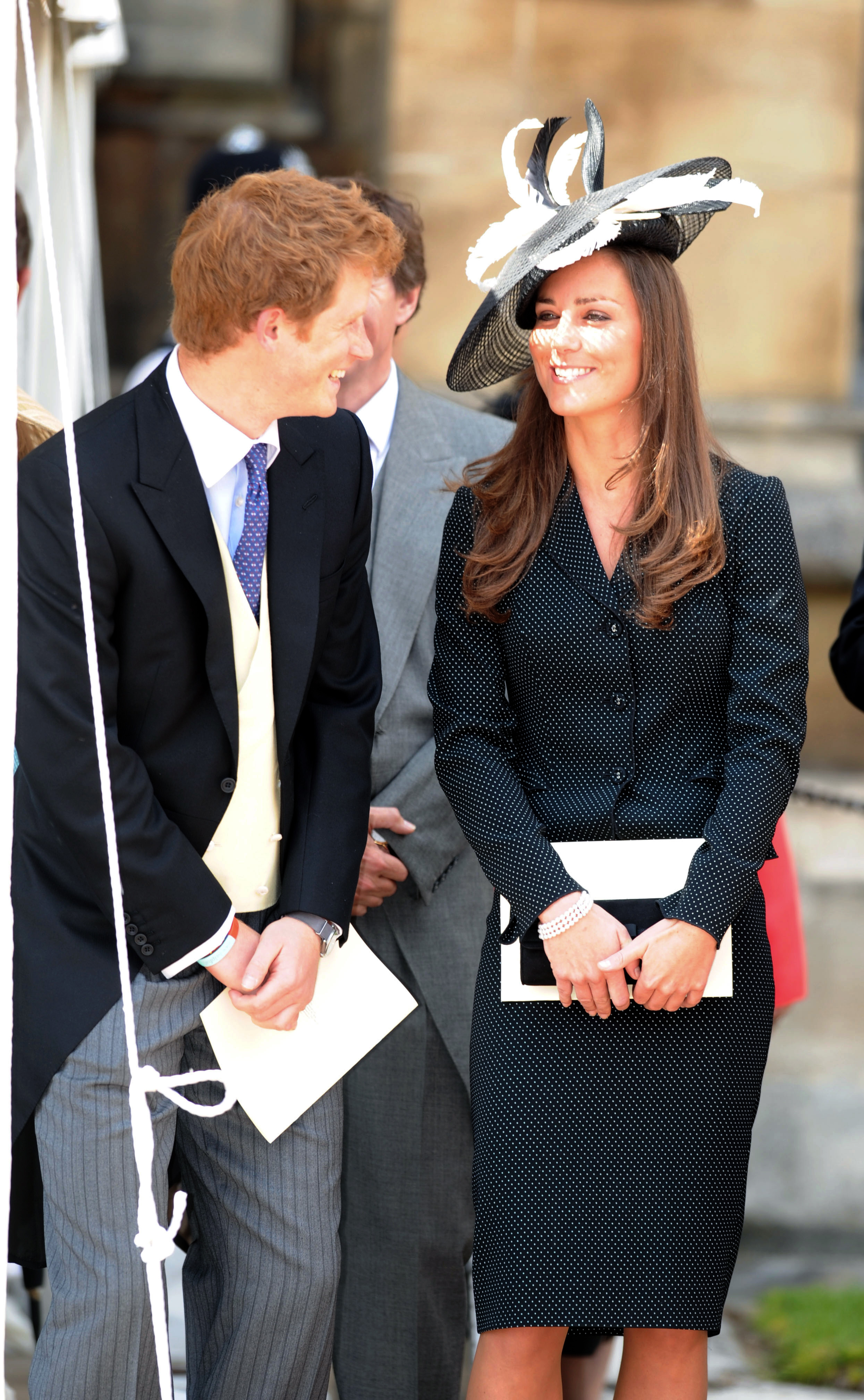 <strong>Hanging with Harry</strong>                                   The future royal picked a polka-dot pattern for the Order of the Garter Service at St. George's Chapel on June 16, 2008.