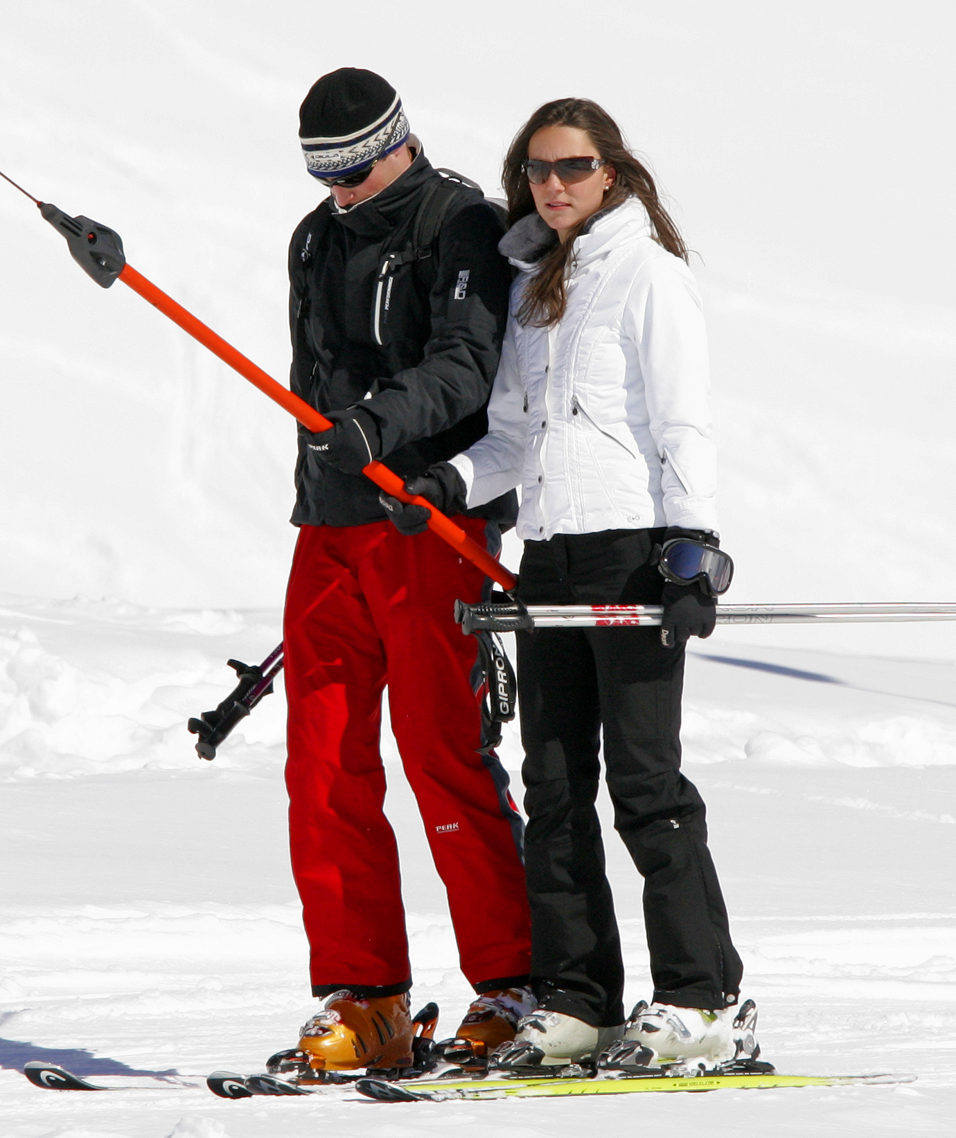 <strong>Slope Style</strong>                                   She may be a future princess, but Middleton's no priss. On holiday in Switzerland, she hit the slopes in a puffy ski jacket and pants. March 19, 2008