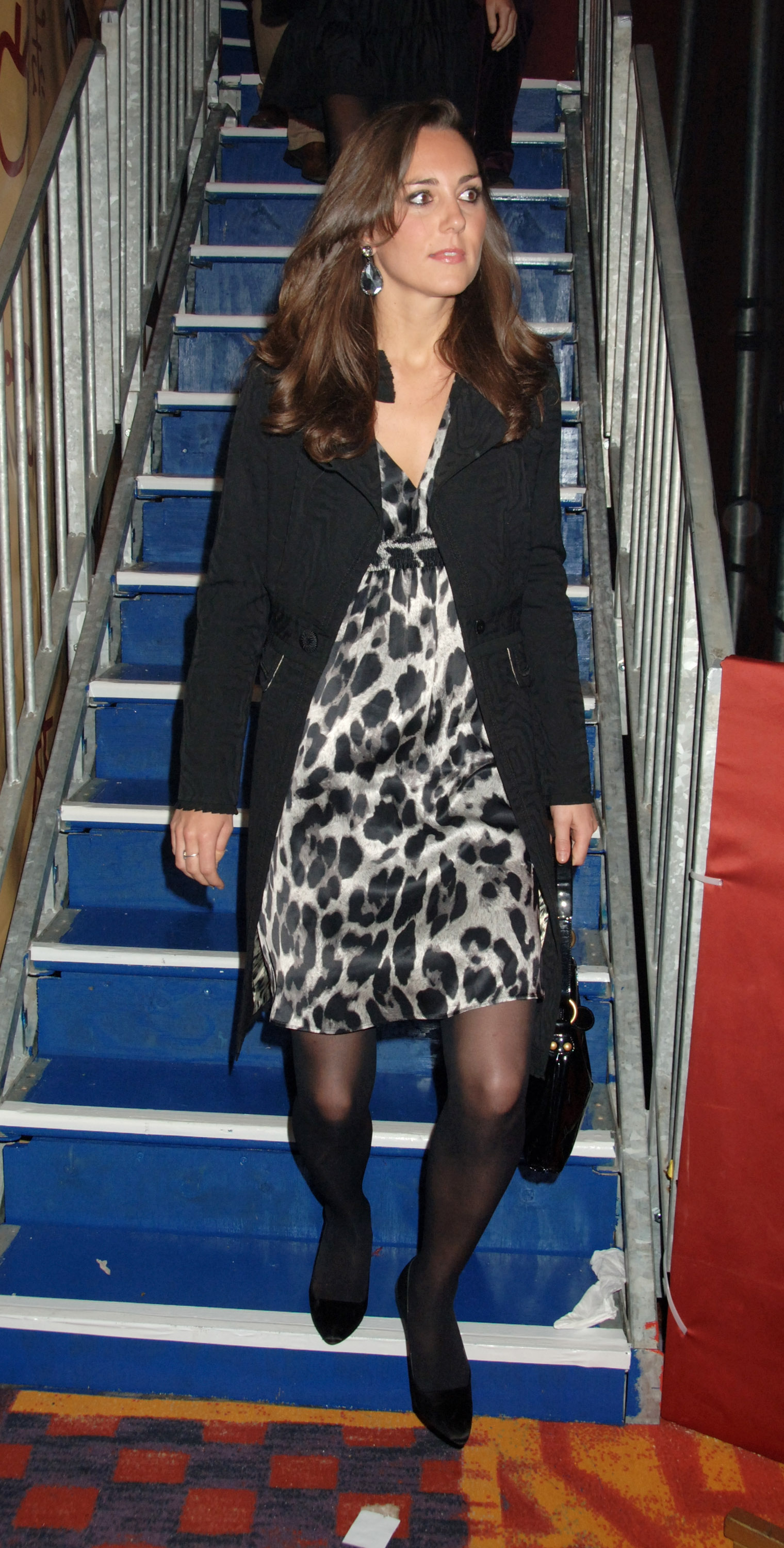"<strong>Where the Wild Things Are</strong>                                   Middleton attended an after-party for the dance show ""AFRIKA! AFRIKA!"" in an animal-print frock. Jan. 17, 2008"