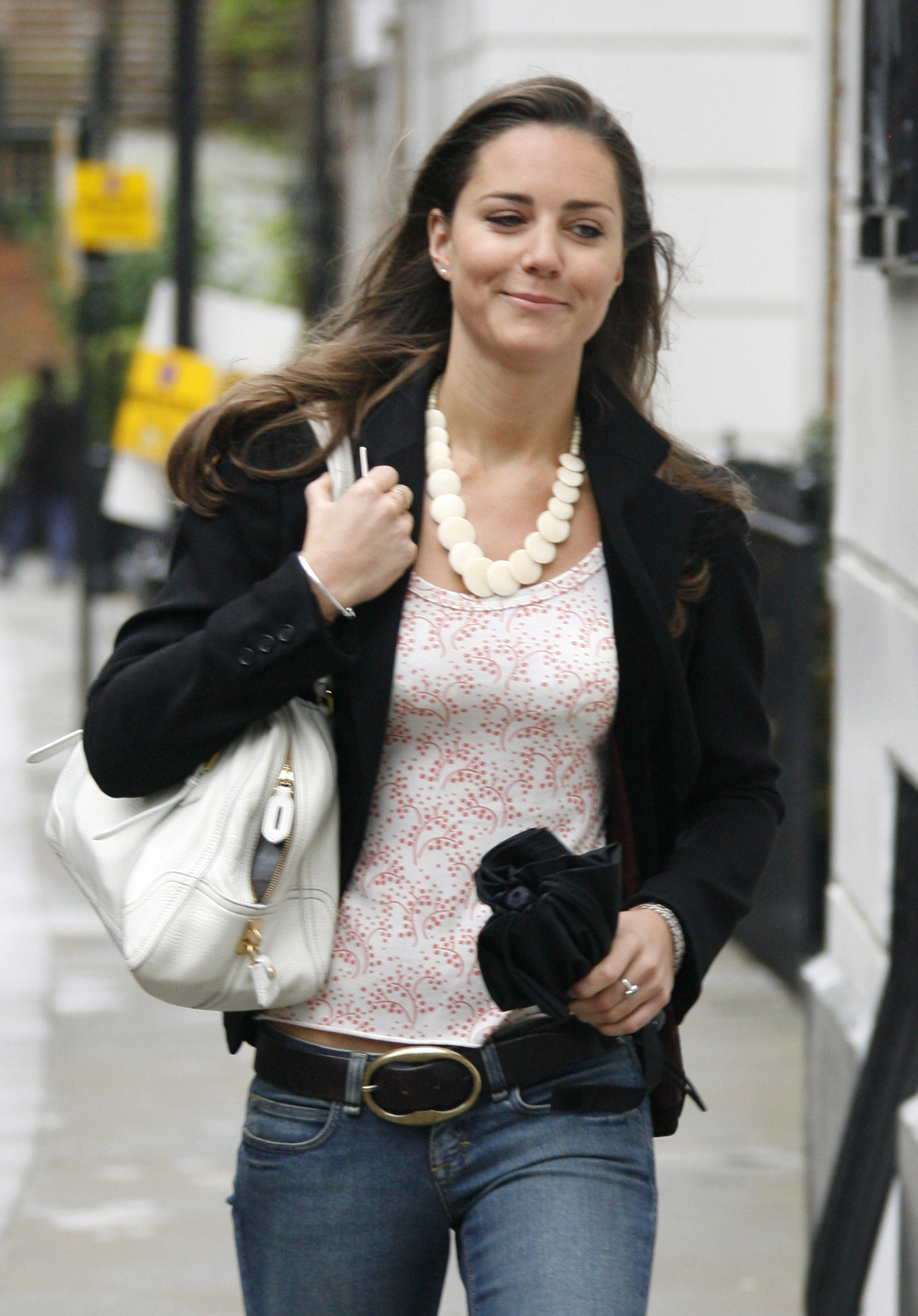 <strong>Casual Kate </strong>                                   Before her high-fashion transformation, Middleton kept it casual. She and Prince William had reportedly broken up at this point. May 17, 2007
