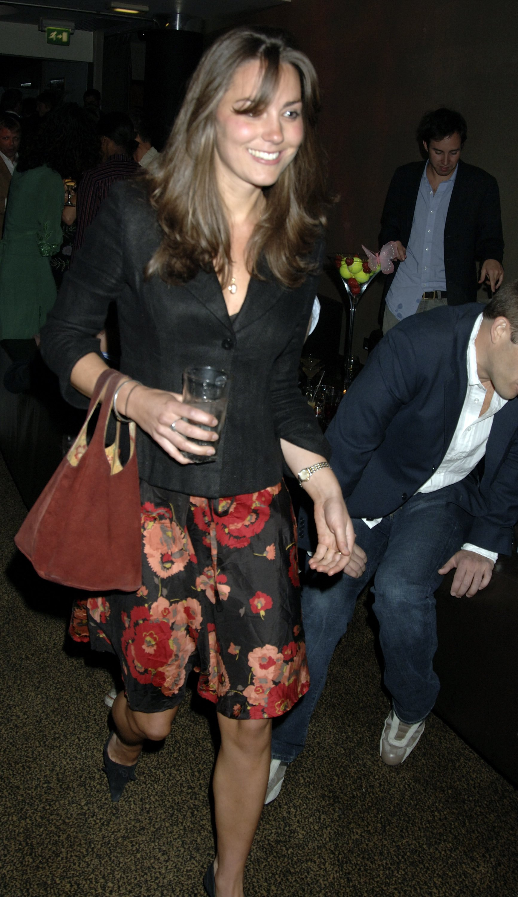 <strong>Wimbledon Wear</strong>                                   She wore a floral flock to a party thrown by Sir Richard Branson to celebrate the tennis tournament on June 22, 2006.