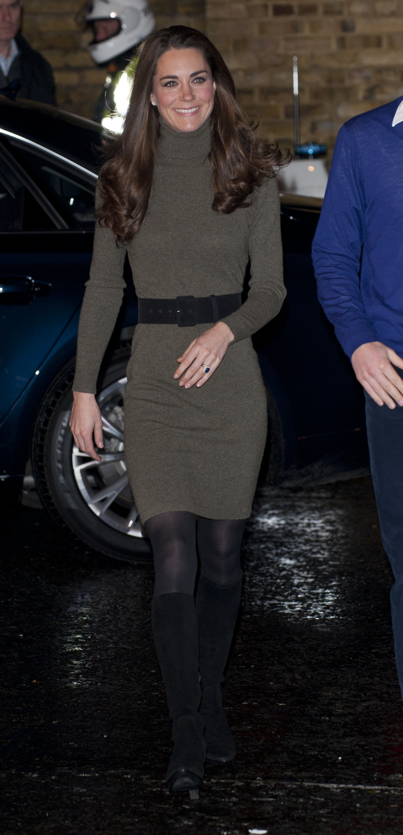 <strong>Classic Americana</strong>                                   Middleton visited Centrepoint, a homeless youth center in London, on Dec. 21, 2011 wearing a knit dress from Ralph Lauren's Blue Label line. On Jan. 5, 2012, the Duchess announced she would support various charities that work with youth, including East Anglia's Children's Hospices and The Art Room.