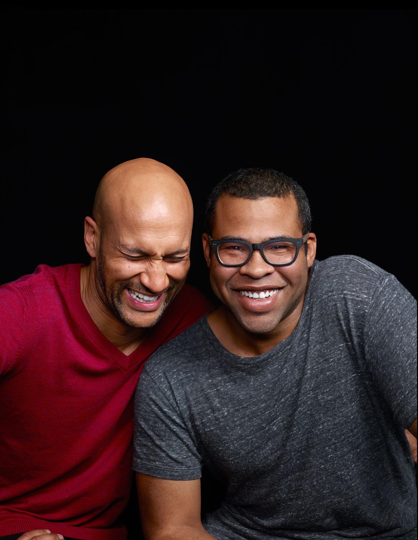 Keegan-Michael Key                     (left) and Jordan Peele