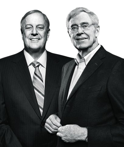 Koch Brothers David and Charles TIME 100