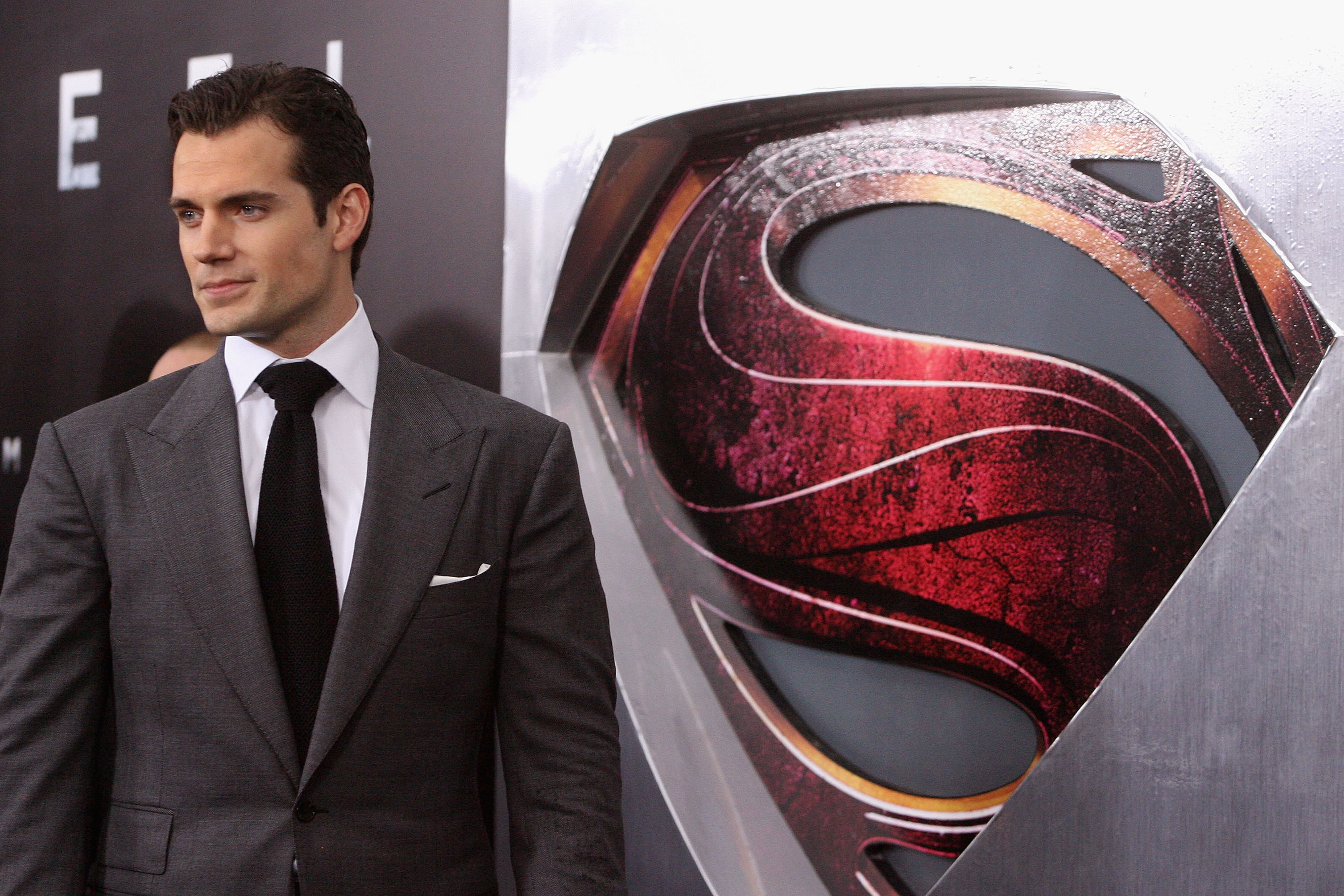 Henry Cavill attends the  Man Of Steel  (2013) World Premiere in New York City.