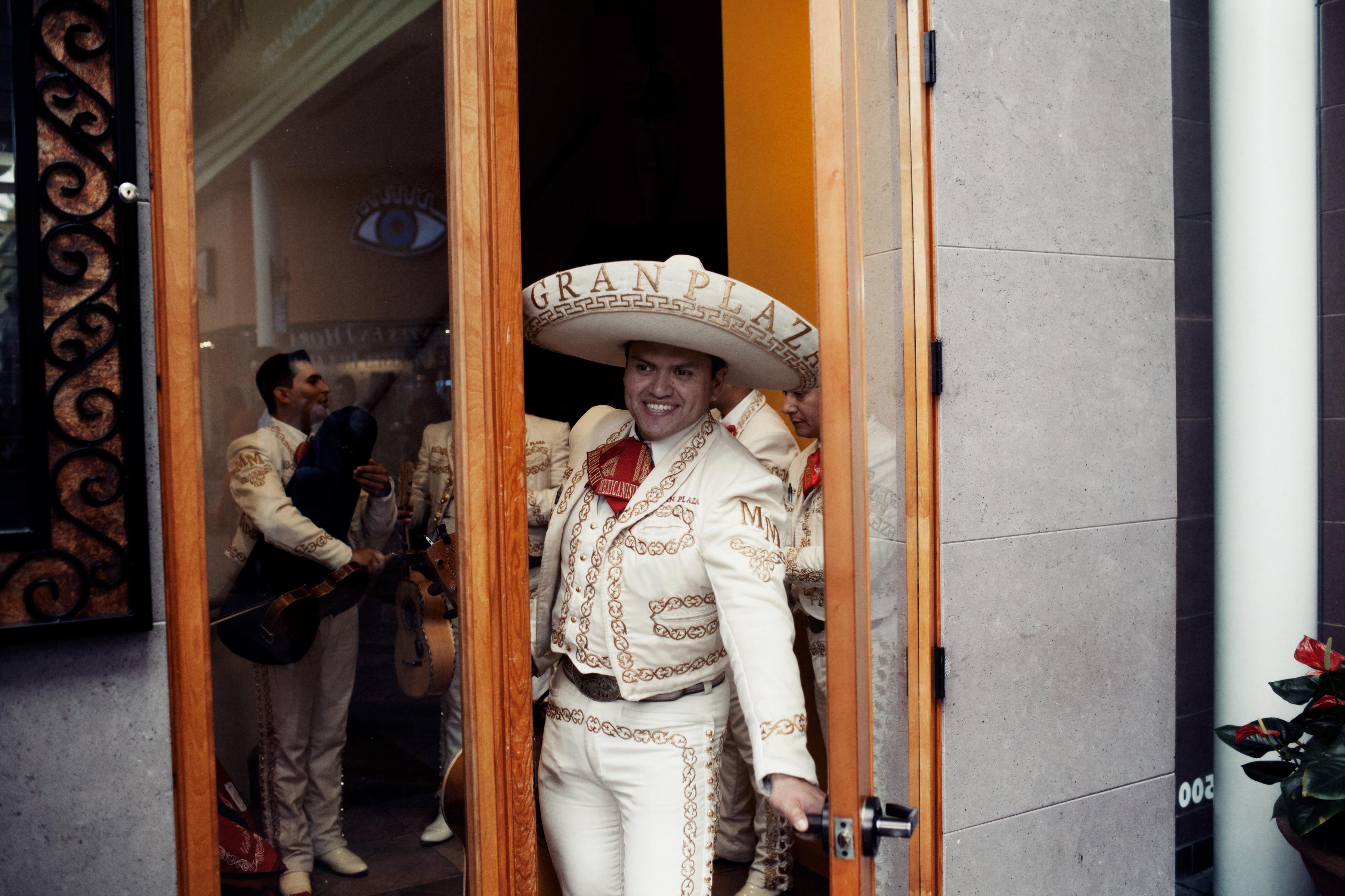 A mariachi at La Gran Plaza mall outside Fort Worth, Texas.