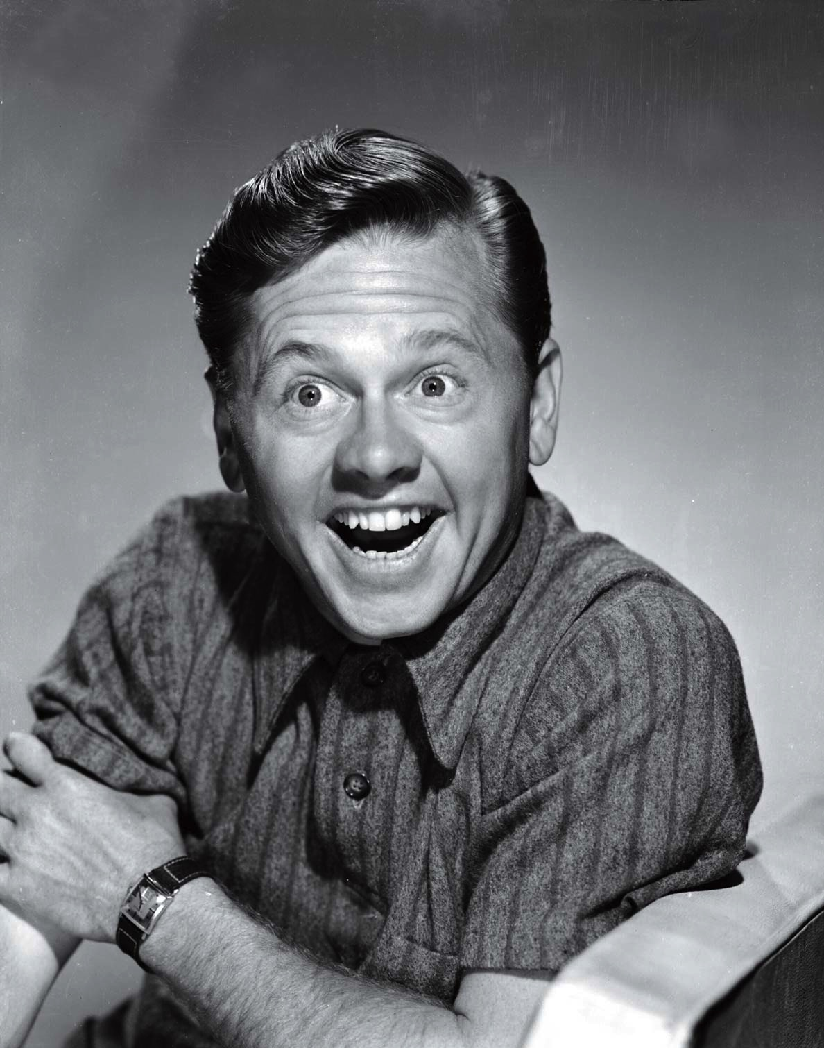 Rooney, photographed as Andy Hardy in 1946, died on April 6 at age 93
