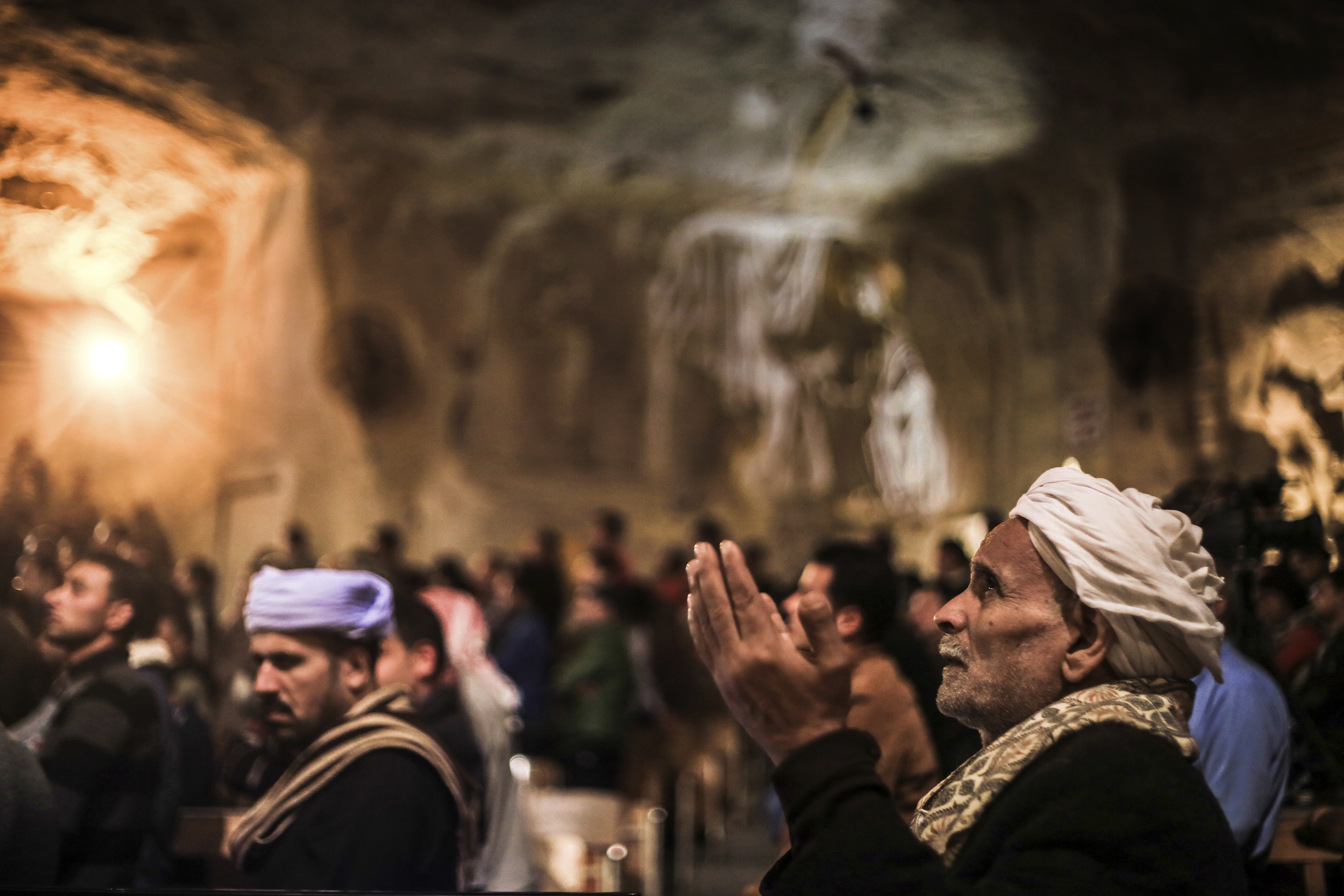 Seeking redemption Worshippers mark the beginning of Lent withMass at St.Samaan Church in Cairo