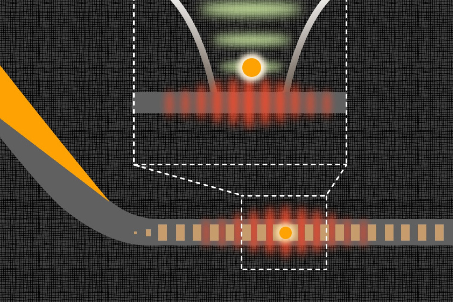 Scientists have developed a new method of trapping rubidium atoms in a lattice of light, which could help the development of quantum computing.