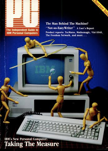 The debut issue of PC magazine, February-March 1982