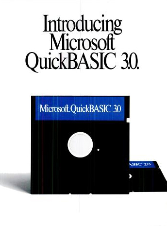 A 1987 ad for Microsoft's QuickBASIC, a compiler version of the language aimed at advanced programmers