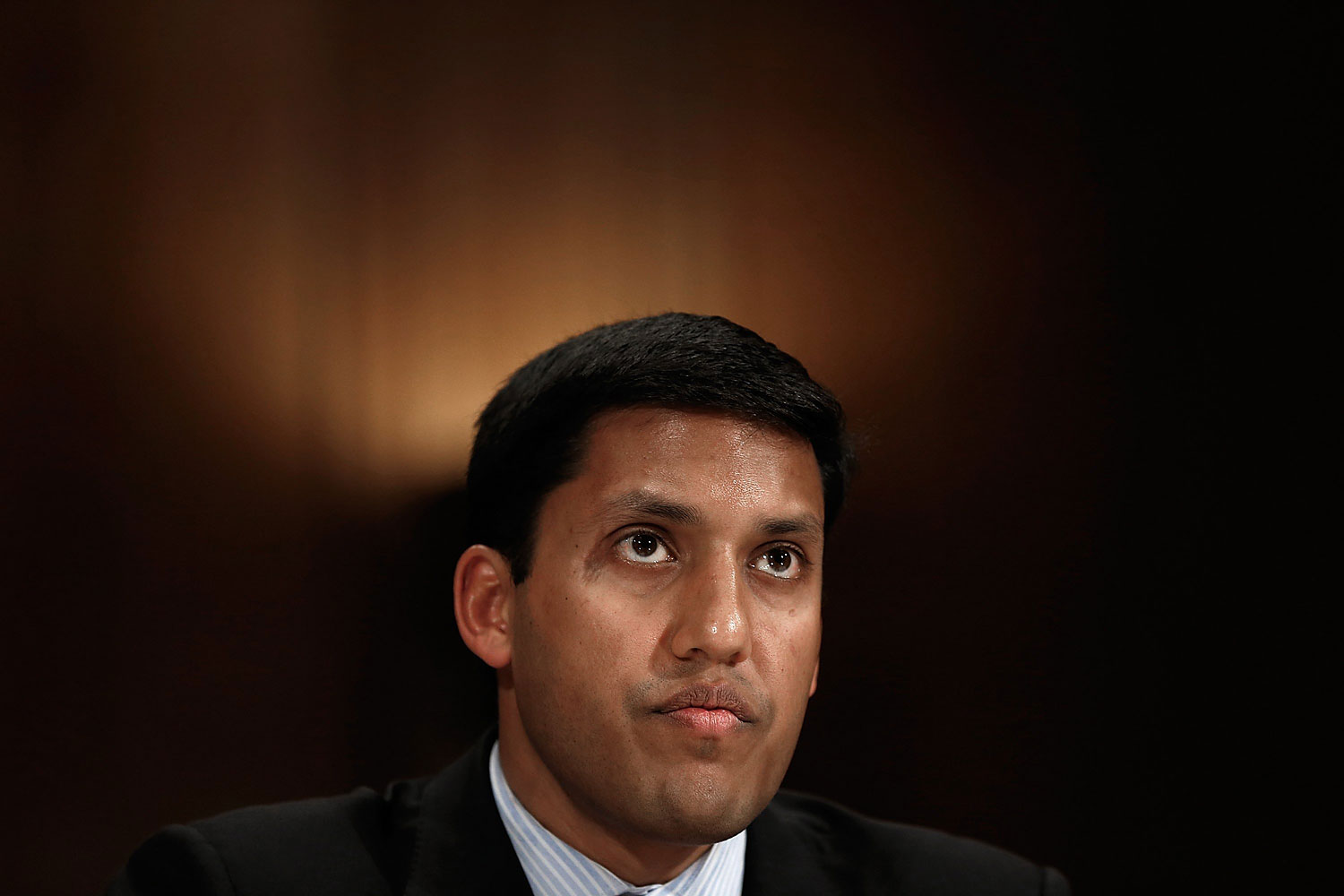 Rajiv Shah, administrator of the U.S. Agency for International Development testifies before a subcommittee of the Senate Appropriations Committee April 8, 2014 in Washington, DC.