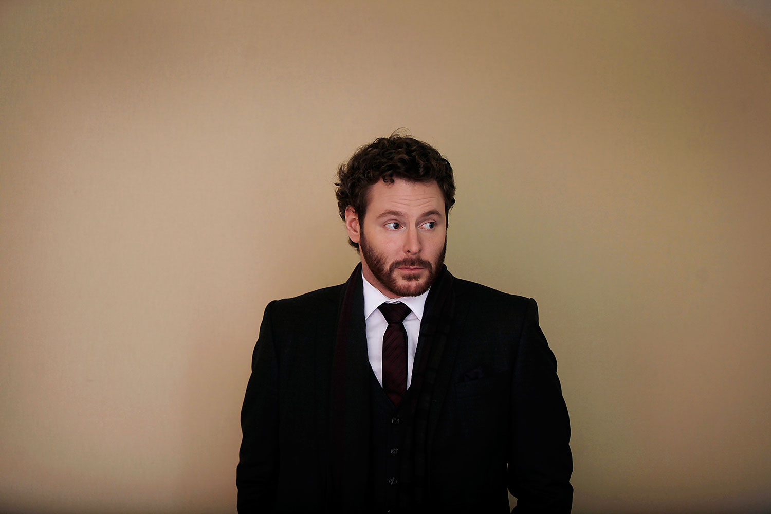 Sean Parker, co-founder of Napster Inc. and managing partner of the Founders Fund, stands for a photograph following a television interview on day three of the World Economic Forum in Davos, Switzerland in 2012
