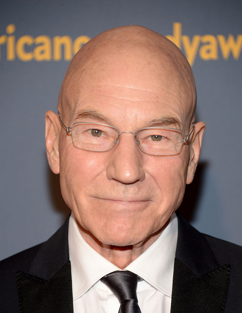 Actor Patrick Stewart attends 2014 American Comedy Awards at Hammerstein Ballroom on April 26, 2014 in New York City.