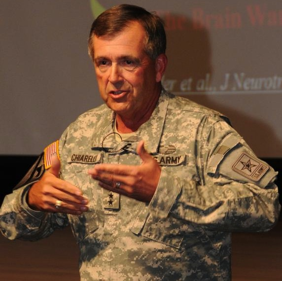 Pete Chiarelli retired from the Army as its No. 2 officer in 2012.