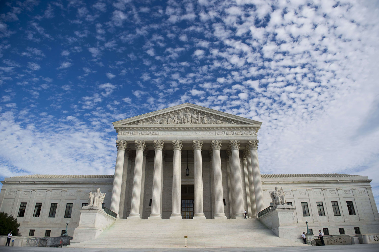 The Supreme Court in Washington, DC, seen in 2013.