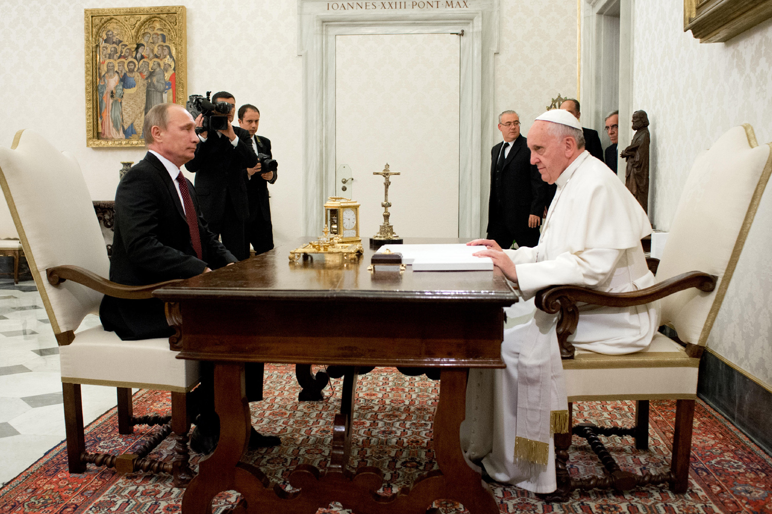 A private Audience with Russian President Vladimir Putin.