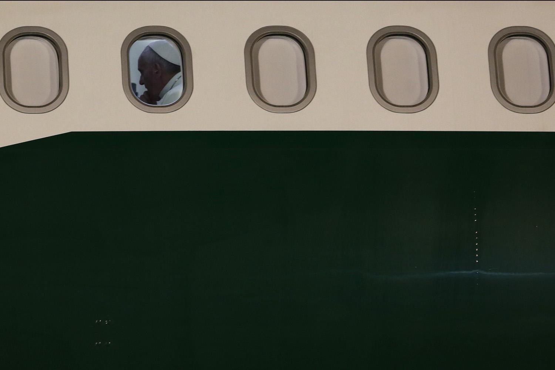 Departing Rio de Janeiro.