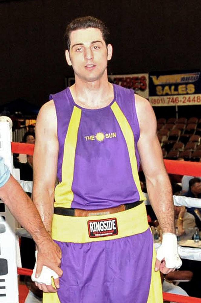 Tamerlan Tsamaev at a boxing event in Salt Lake City, Utah in 2009.