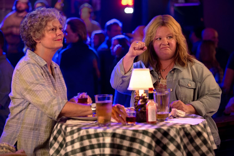Susan Sarandon and Melissa McCarthy in 'Tammy'