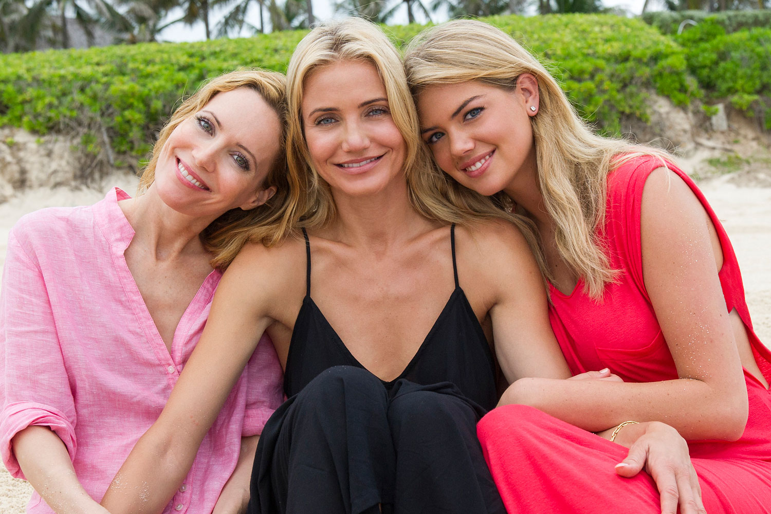 Leslie Mann, left, Cameron Diaz and Kate Upton star in The Other Woman