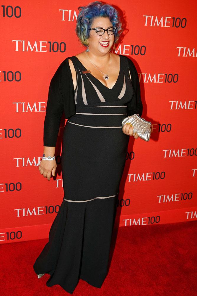 Honoree Jenji Kohan at the Time 100 Gala at Jazz at Lincoln Center in New York on April, 29, 2014.