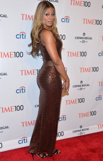 Laverne Cox attends the TIME 100 Gala, TIME's 100 most influential people in the world, at Jazz at Lincoln Center on April 29, 2014 in New York City.