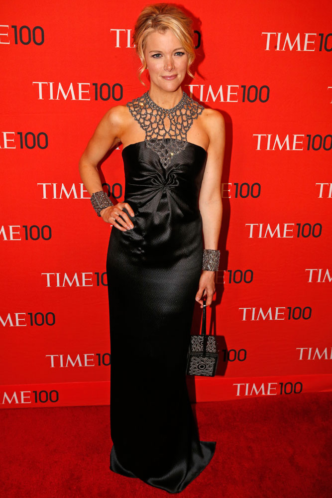 Honoree Megyn Kelly at the Time 100 Gala at Jazz at Lincoln Center in New York on April, 29, 2014.