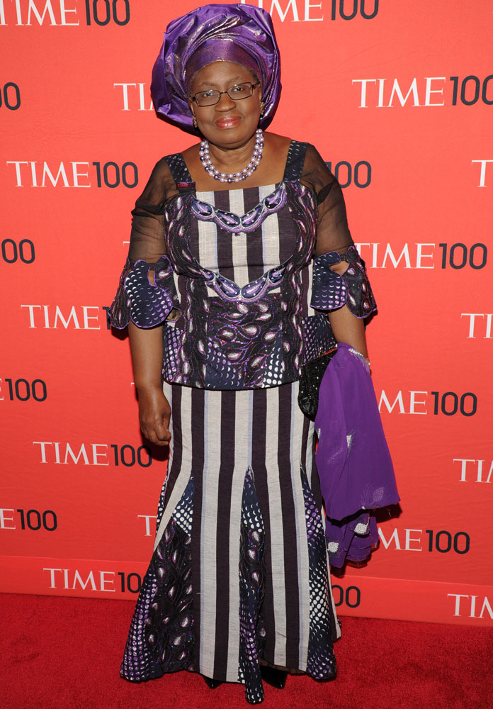 Honoree Ngozi Okonjo-Iweala attends the TIME 100 Gala, TIME's 100 most influential people in the world at Jazz at Lincoln Center on April 29, 2014 in New York City.