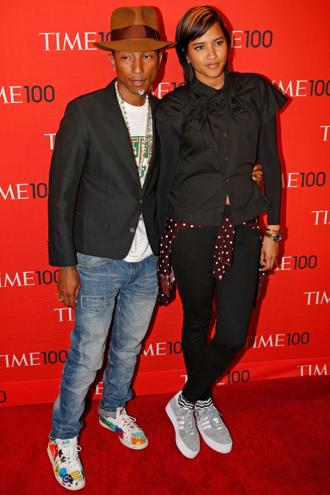 Honoree Pharrell Williams at the Time 100 Gala at Jazz at Lincoln Center in New York on April, 29, 2014.
